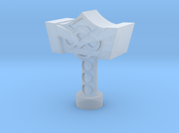 Mjolnir 3 3/4in Scale! in Smooth Fine Detail Plastic