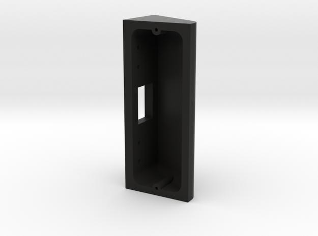 Ring Doorbell Pro 90 Degree Wedge in Black Natural Versatile Plastic