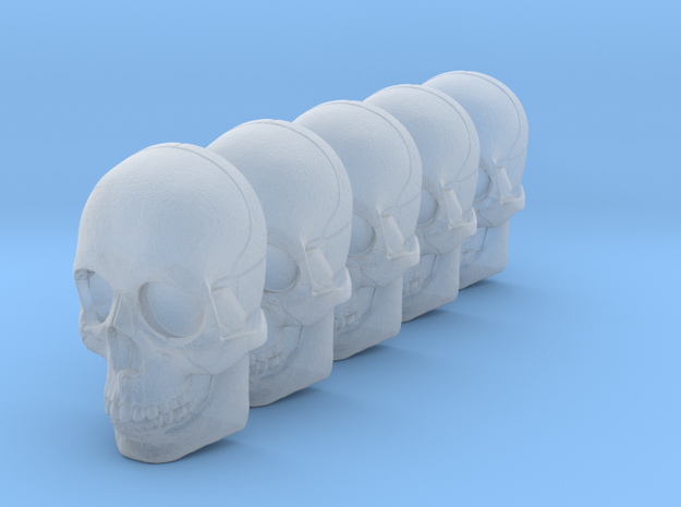 bsi-skull-human-05mm-jaw 028mm in Smoothest Fine Detail Plastic