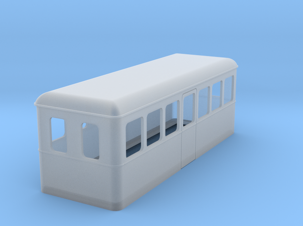 HOe Railbus 24 in Smooth Fine Detail Plastic