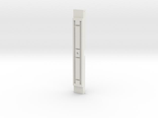 L&Y Bogie bottom crossmember in White Natural Versatile Plastic