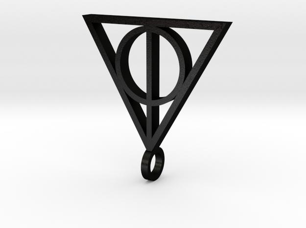 KiKi_Deathly-Hollows v5 in Matte Black Steel