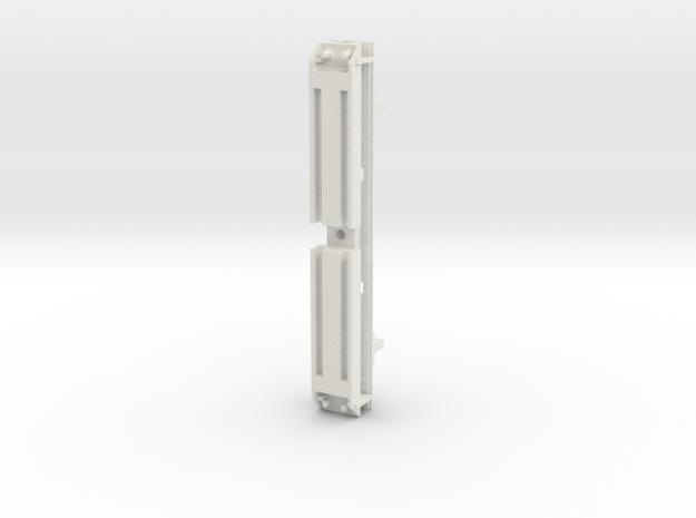 L&Y Bogie top crossmember in White Natural Versatile Plastic
