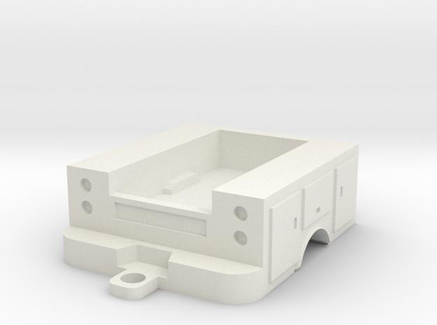 1/64 1 ton service body  in White Natural Versatile Plastic