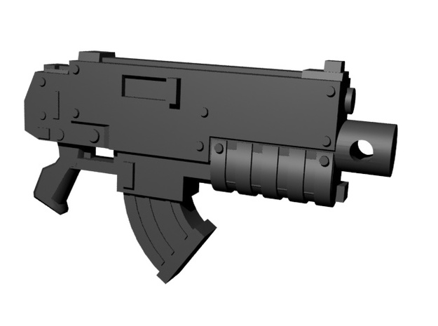 SciFi turboslug shot guns 28mm x10