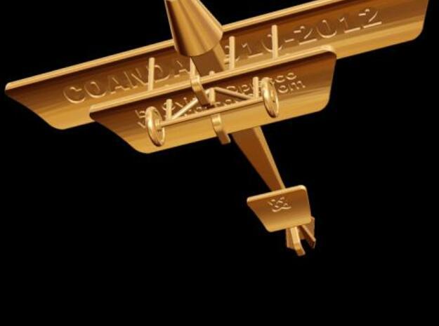 Coanda 1910-2012 Jet Aircraft (Large) 3d printed