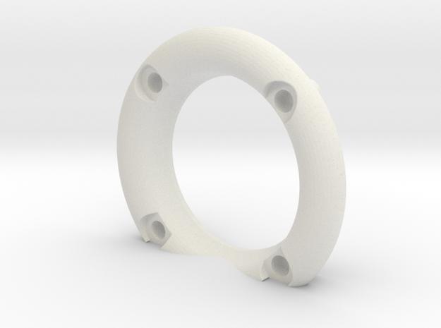 B64 B74 Fan Inlet Bell v1.0 in White Natural Versatile Plastic