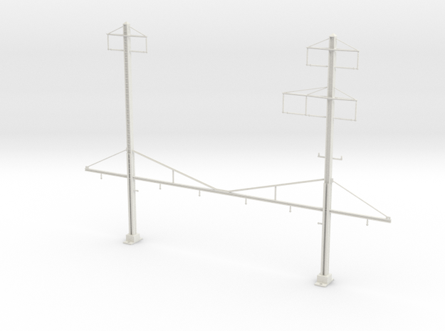 north philly platform catenary structure in White Natural Versatile Plastic