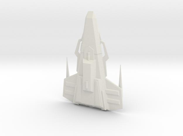Husnock Warship 1:7000 in White Natural Versatile Plastic