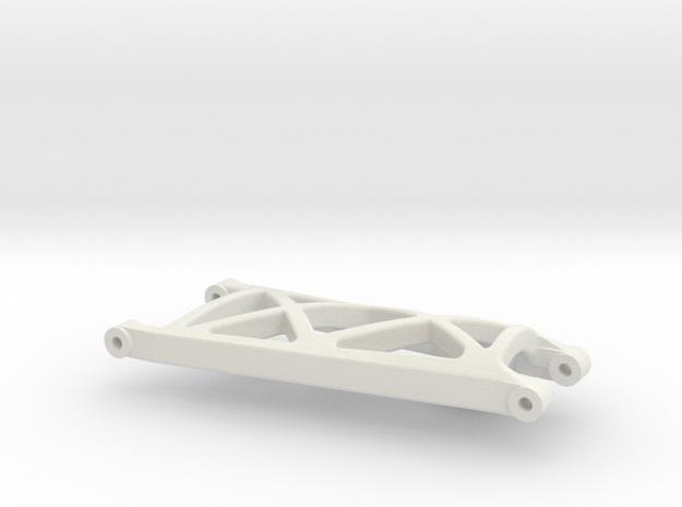 losi xxt rear left suspension arm in White Natural Versatile Plastic