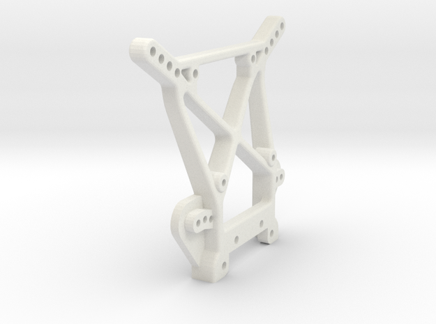 losi xxt front shock tower in White Natural Versatile Plastic