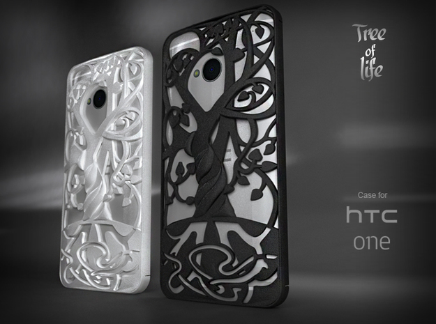 "HTC-ONE case ""Tree of life"""