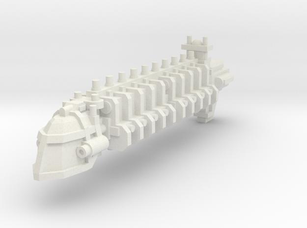 Transporte pesado in White Natural Versatile Plastic