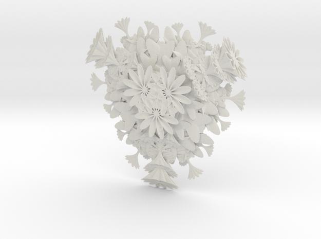 Sweet Sixties in White Natural Versatile Plastic