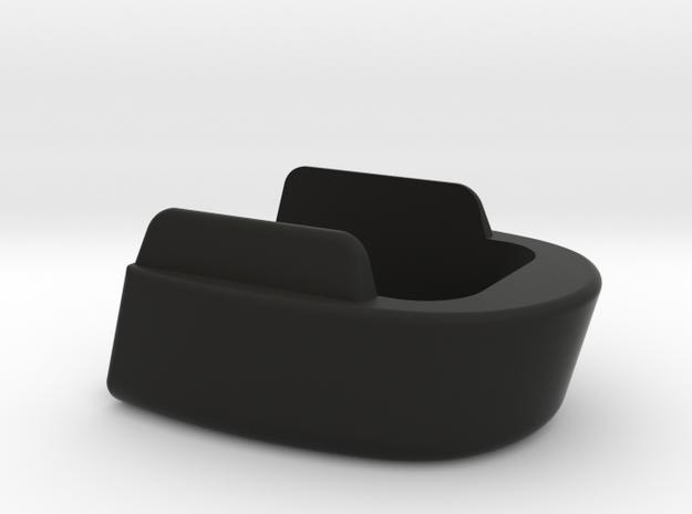 SIG P320c 17-Capacity Base Plate - Square in Black Natural Versatile Plastic