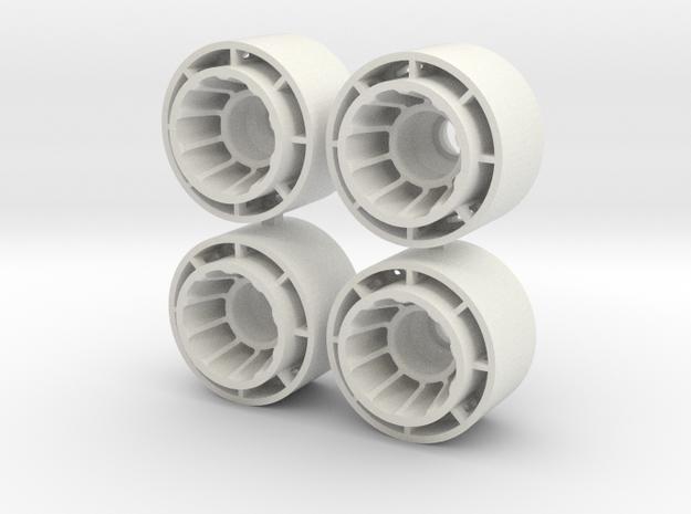 MINI Z F1-REAR +1.5 in White Natural Versatile Plastic