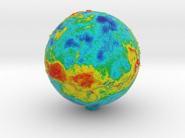 Topographic Venus in Full Color Sandstone
