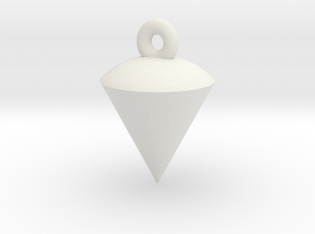 Plumb / Lot Earrings TEST in White Natural Versatile Plastic