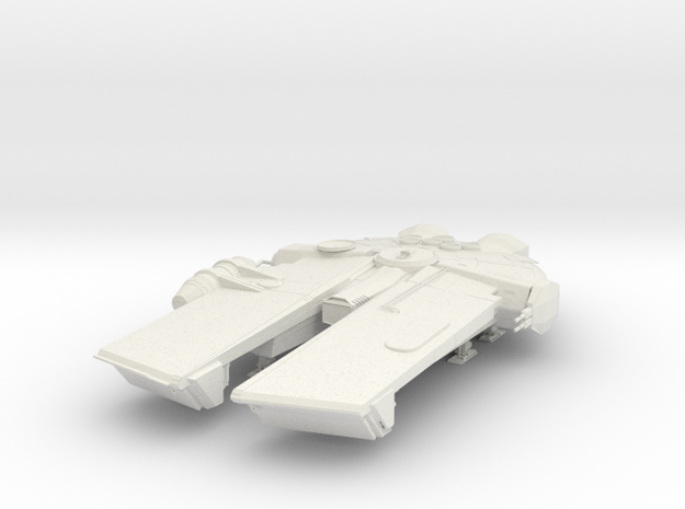 YT-Interceptor in White Natural Versatile Plastic