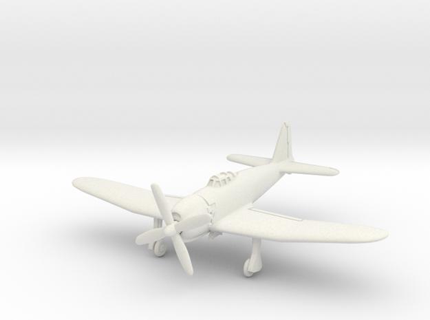 Mitsubishi A7M2 Reppu (With Landing gear) 1/144 in White Natural Versatile Plastic