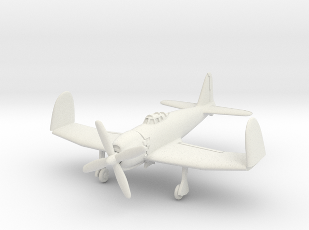 Mitsubishi A7M2 Reppu (With folded wings) 1/100 in White Natural Versatile Plastic