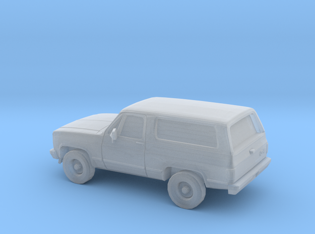 1/87 1980-88 GMC Jimmy in Smooth Fine Detail Plastic
