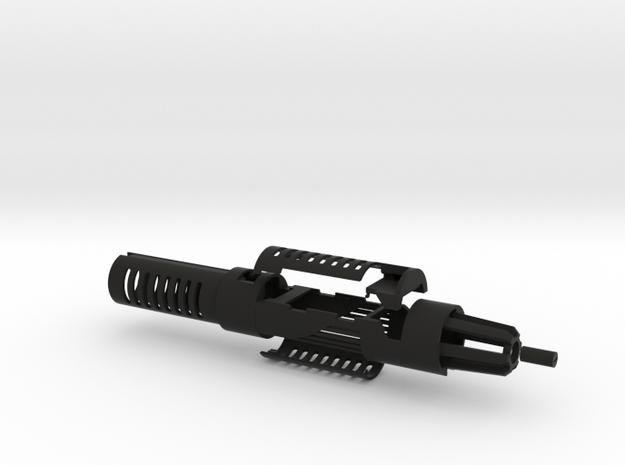 Mace Windu 89 sabers CS4 in Black Natural Versatile Plastic