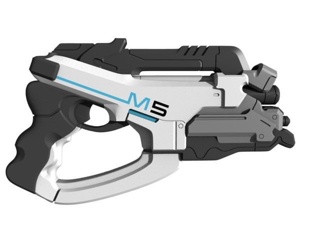 Mass Effect - 1:6 scale - M5 Phalanx in White Strong & Flexible