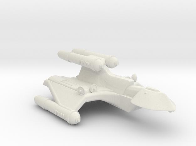 3788 Scale Romulan FireHawk-C+ Scout/Survey Ship in White Natural Versatile Plastic