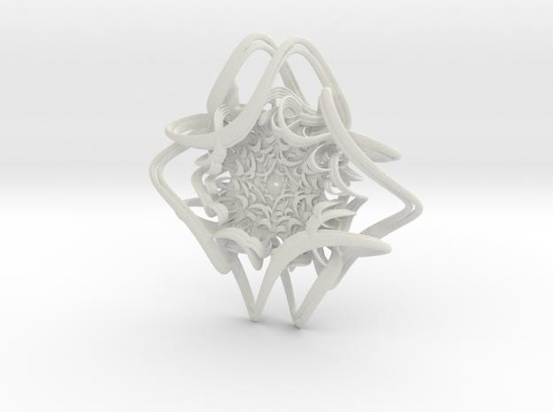 Pizza Spaghetti in White Natural Versatile Plastic