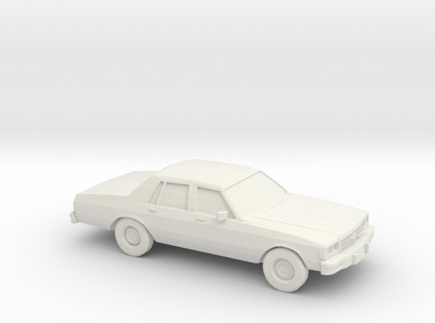 1/24 1978 Chevrolet Impala Sedan in White Natural Versatile Plastic