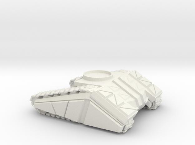 DF 1-72 TANK BASE SMALL-MED in White Natural Versatile Plastic