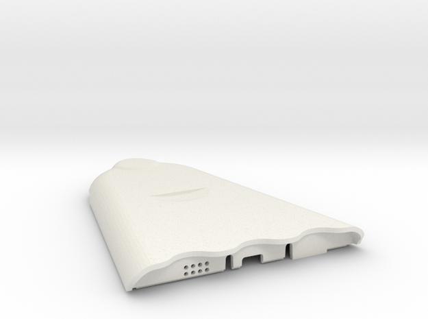 AirBeam2 Top in White Natural Versatile Plastic