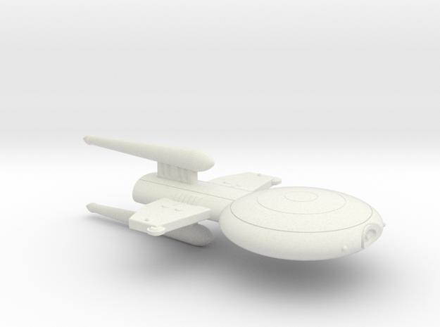 3788 Scale Gorn Megalosaurus Light Cruiser (CL) SR in White Natural Versatile Plastic