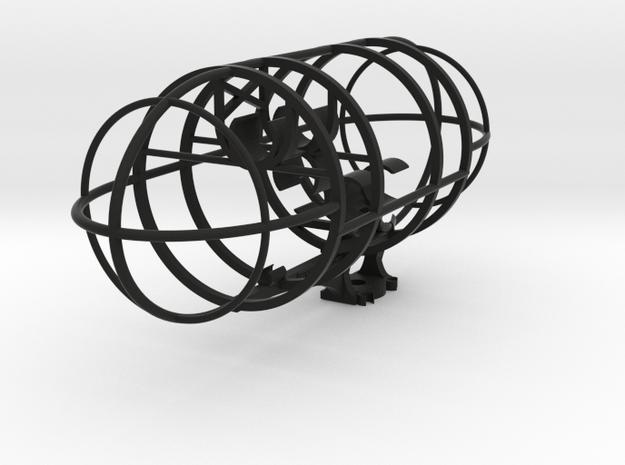 Double MS plus Z axis 3D array (19mm) Beta in Black Natural Versatile Plastic