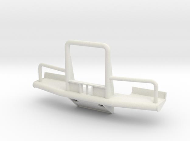 C500 Heavy Hauler Front Bumper V3 in White Natural Versatile Plastic