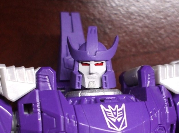 Alternate Head (2.0) for Titans Return Galvatron