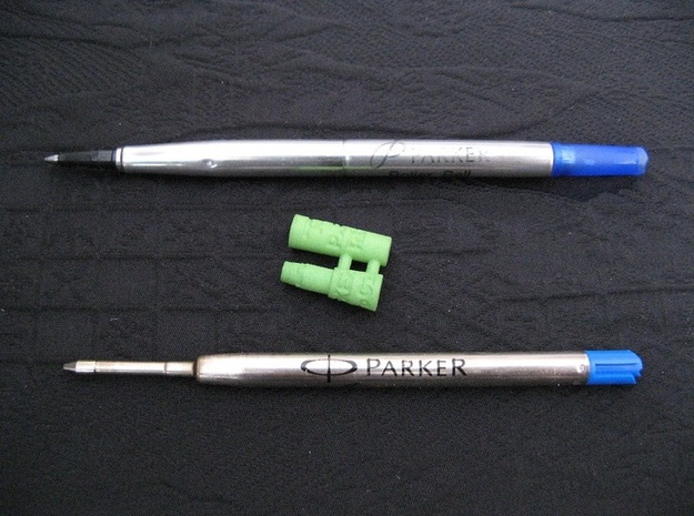 Adapter: Parker RB to Parker G2 in Green Processed Versatile Plastic