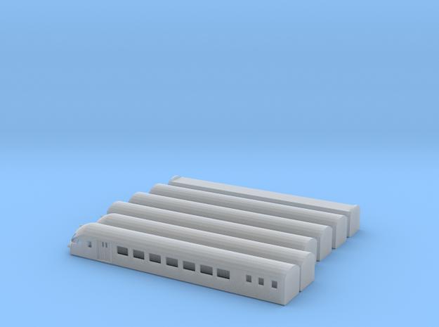 SBB Rae Graue Maus Scale TT Komplett in Smooth Fine Detail Plastic