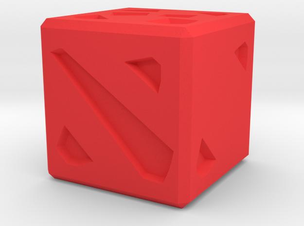 DOTA D6 19mm in Red Processed Versatile Plastic