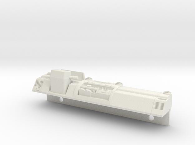 LC70 - LHD Dash in White Natural Versatile Plastic