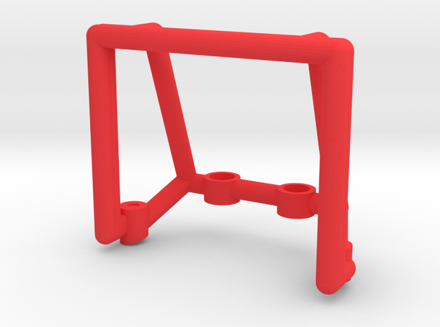 Tamiya Thundershot Rollbar in Red Strong & Flexible Polished