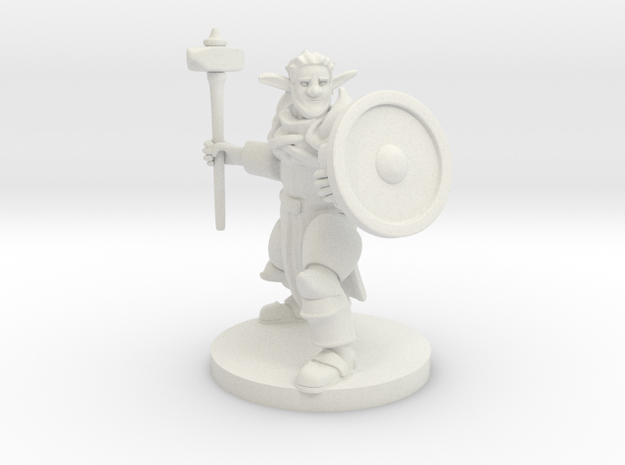 Forest Fey Guardian in White Natural Versatile Plastic