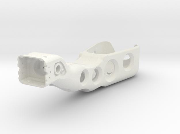 Left arm in White Natural Versatile Plastic