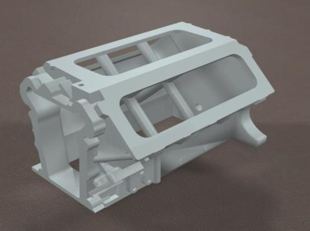 1/16 Scale 426 Hemi block 3d printed