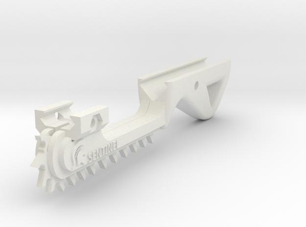 Sentinel Chainsword Mark II in White Natural Versatile Plastic