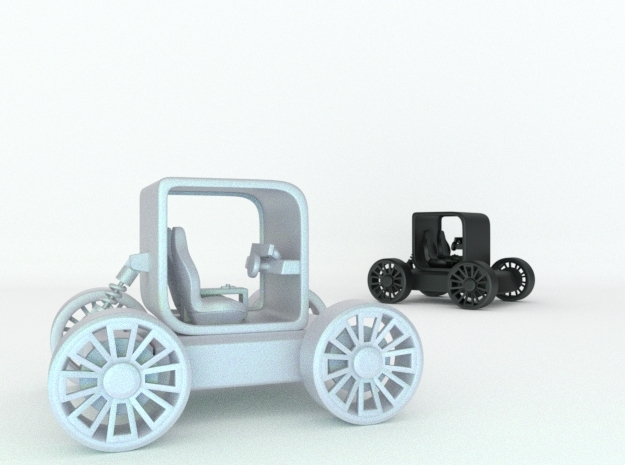 Small concept styled car with suspension v1