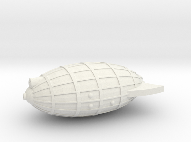 3788 Scale Chlorophon White Pine Frigate (FF) MGL in White Natural Versatile Plastic