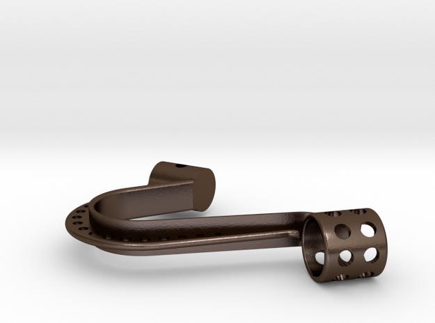 Custom Arm for Peak Vise  in Polished Bronze Steel