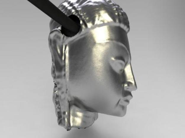 My Buddha ! 3d printed Render in silver